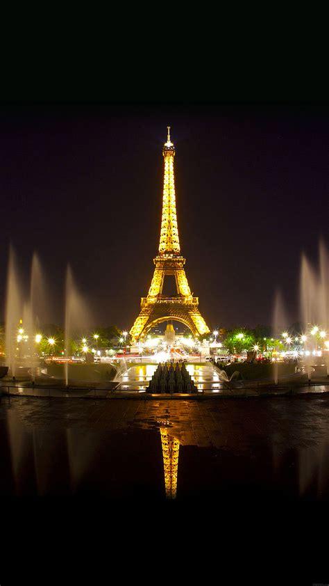 Eiffel Tower Night Light wallpaper hd iphone x 8 7 6 paris by night eiffel