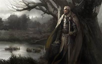 Knight Fantasy Artwork Armor Sword Disciples Holding