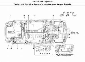 Buy Original Ferrari 348 Ts  1993  132a Electrical System