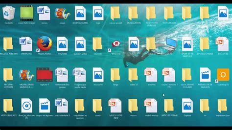 icones bureau changer la taille des icones du bureau sous windows 10