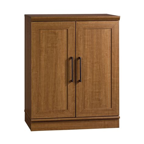 sauder homeplus storage cabinet sears sauder 411967 home plus base cabinet brown sears outlet