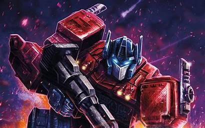 Transformers Optimus Prime Digital Wallpapers Cybertron War