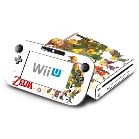 Skin Decal Cover For Nintendo Wii U Console And Gamepad
