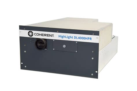 Coherent Introduces Integrated 19 Rack Mount 4 Kw