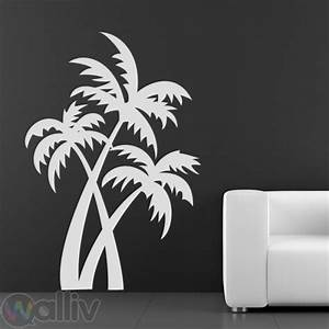 palm trees at the beach wall sticker decal With kitchen colors with white cabinets with palm tree wall sticker
