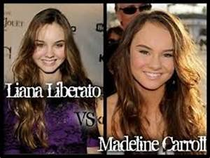 Madeline Carroll and Liana Liberato OK, now this REALLY ...