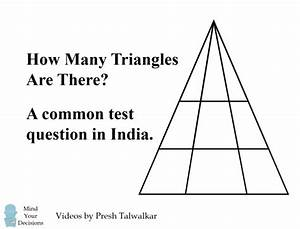 Bollywood Loves This Math Problem  How Many Triangles Are There   U2013 Mind Your Decisions