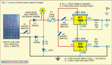 Solar Panel Based Charger Small Led Lamp Eeweb Community