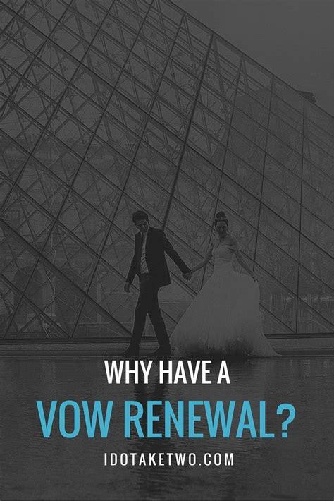 vow renewal etiquette anniversaries