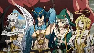 جميع حلقات انمي Magi: The Kingdom of Magic مترجم