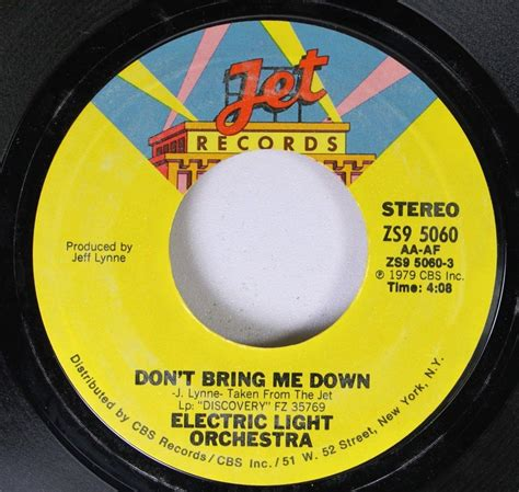 electric light orchestra don t bring me rock 45 electric light orchestra don t bring me