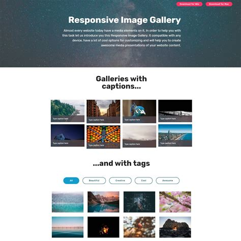 stunning html bootstrap image slideshow  gallery