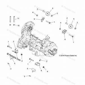 Polaris Atv 2015 Oem Parts Diagram For Engine  Engine And