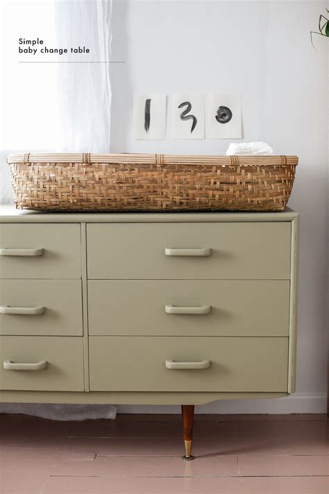 how to make a changing table simple changing table blackbird
