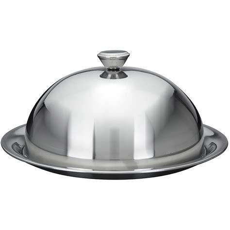 cloche de cuisine cloche couvre assiette maitre d 39 hotel inox avec assiette