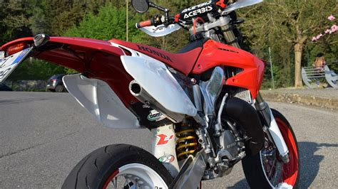 honda cr 125 honda cr 125 motard youtube