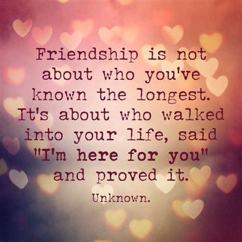 friendship     youve   longest