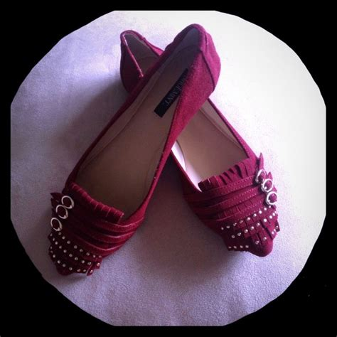 wine colored flats shoemint shoes wine colored suede flats poshmark