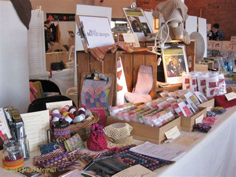christmas craft fairs by being knitterly
