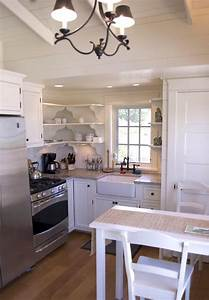 Stunning, Small, Cottage, Kitchens, Decorating, Ideas, 35