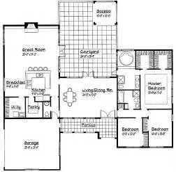 one story house plan single story house plans single story country house contemporary one story house plans