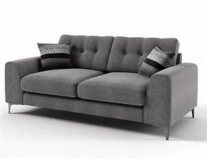 Canape Design Italien Tissu