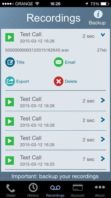 iphone call recorder app call recorder intcall for iphone iphone apps finder