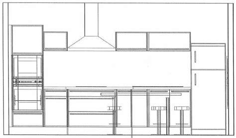 hauteur element cuisine hauteur meuble bas de cuisine idées de décoration