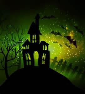 creative haunted house design vector 10