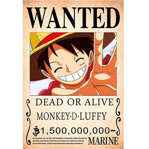 arrived  piece anime poster wallpaper monkey