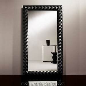 Grand Miroir Design : grand miroir design achat vente miroir moderne nick black deknudt ~ Teatrodelosmanantiales.com Idées de Décoration