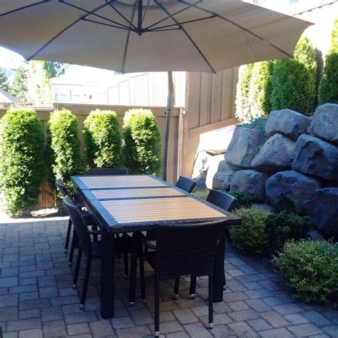 patio wicker extendable dining set on sale for sale from