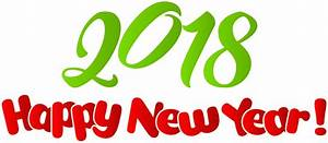 happy new year 2018 clip art free happy new year clipart