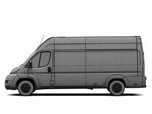 Van Peugeot : peugeot boxer van l4h3 2006 2015 3d model flatpyramid ~ Melissatoandfro.com Idées de Décoration