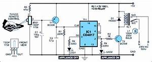 Infrared Remote Control Switch Circuit Working And Its