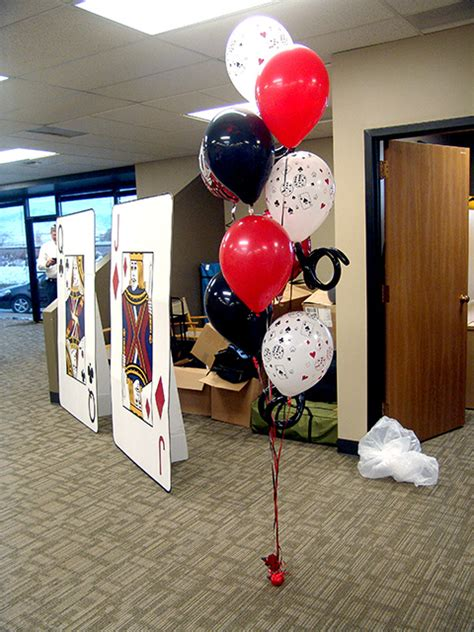 Casino Themed Party Decorations Balloondeliverydenvercom