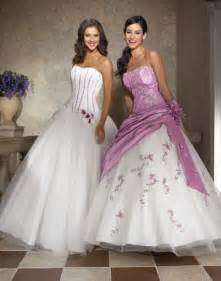 lavender wedding dresses wedding by designs purple and white excellent gown
