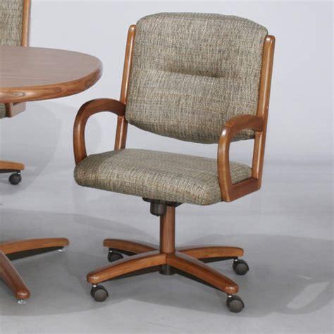 chromcraft furniture kitchen chair with wheels
