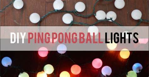 diy ping pong lights hometalk