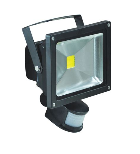 led security flood light 20w led security led flood light with pir sensor l320b