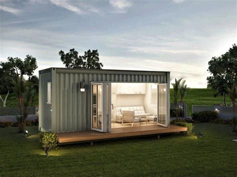 monaco prefabricated granny flat  bedroom granny home shipping container  daycare