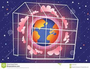 Greenhouse Effect Stock Vector  Illustration Of Fossil