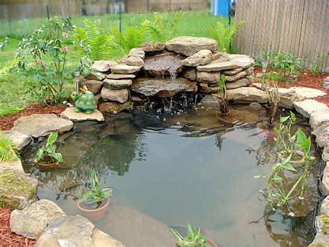 waterfalls for fish ponds pond