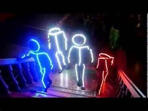 Disfraces leds carnaval corralejo LED light suit