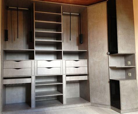 armoire chambre bois dressing sur mesure et chambre
