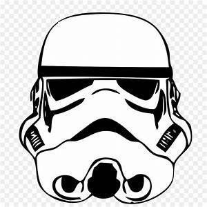 Stormtrooper Drawing Star Wars Stencil Clip art ...