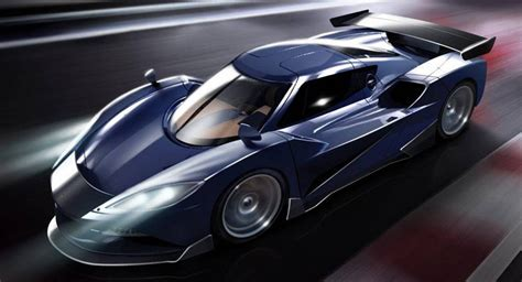 Arash Af10 Hybrid Hypercar Boasts 2,080 Hp