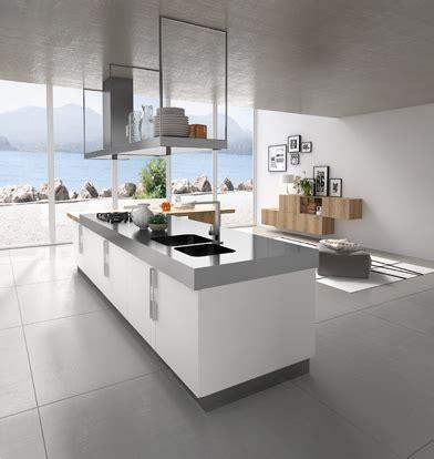 cuisines blanches design cuisine design blanche et bois