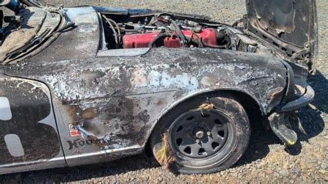 Datsun Race Car For Sale by 260z Its Race Car Wrecked For Sale Photos Technical