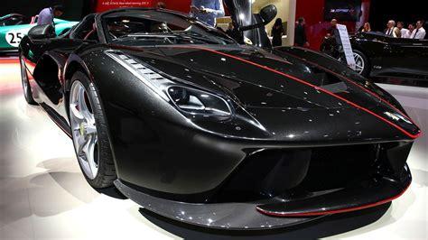 2018 V8 Ferrari Black Car | HD Wallpapers